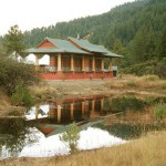 Prayer Wheel Pavilion, Buddhist Temple
