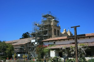 Carmel Mission Restoration