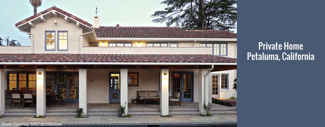 Private Home – Petaluma, California