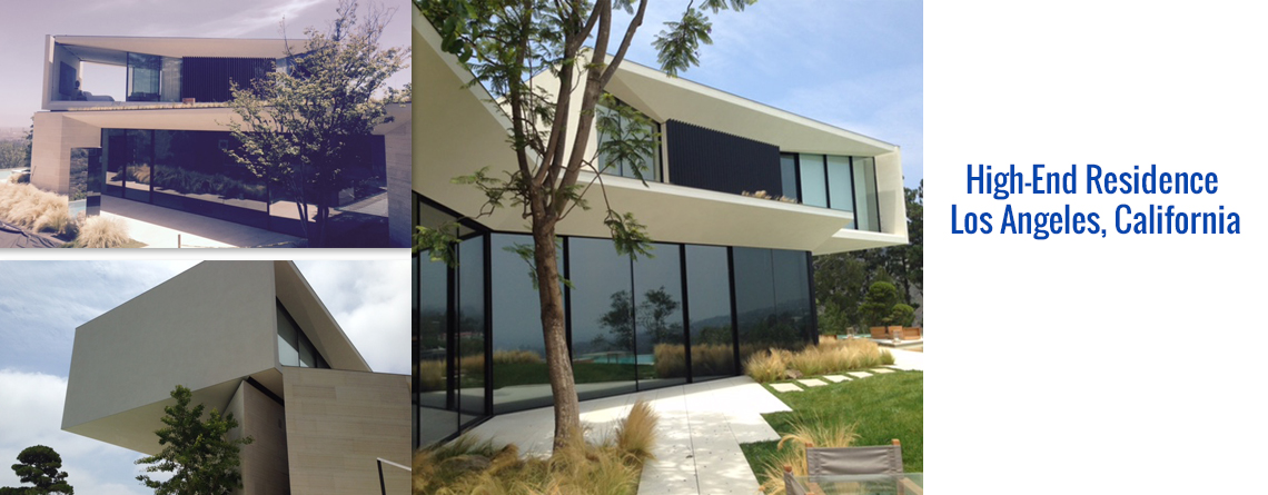 High-End Residence, Los Angeles, California